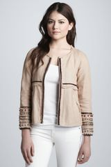Elizabeth And James Jayne Embellished Jacket - Lyst