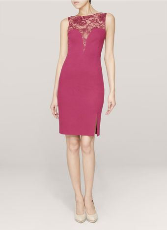 Emilio Pucci Lacepanel Dress - Lyst
