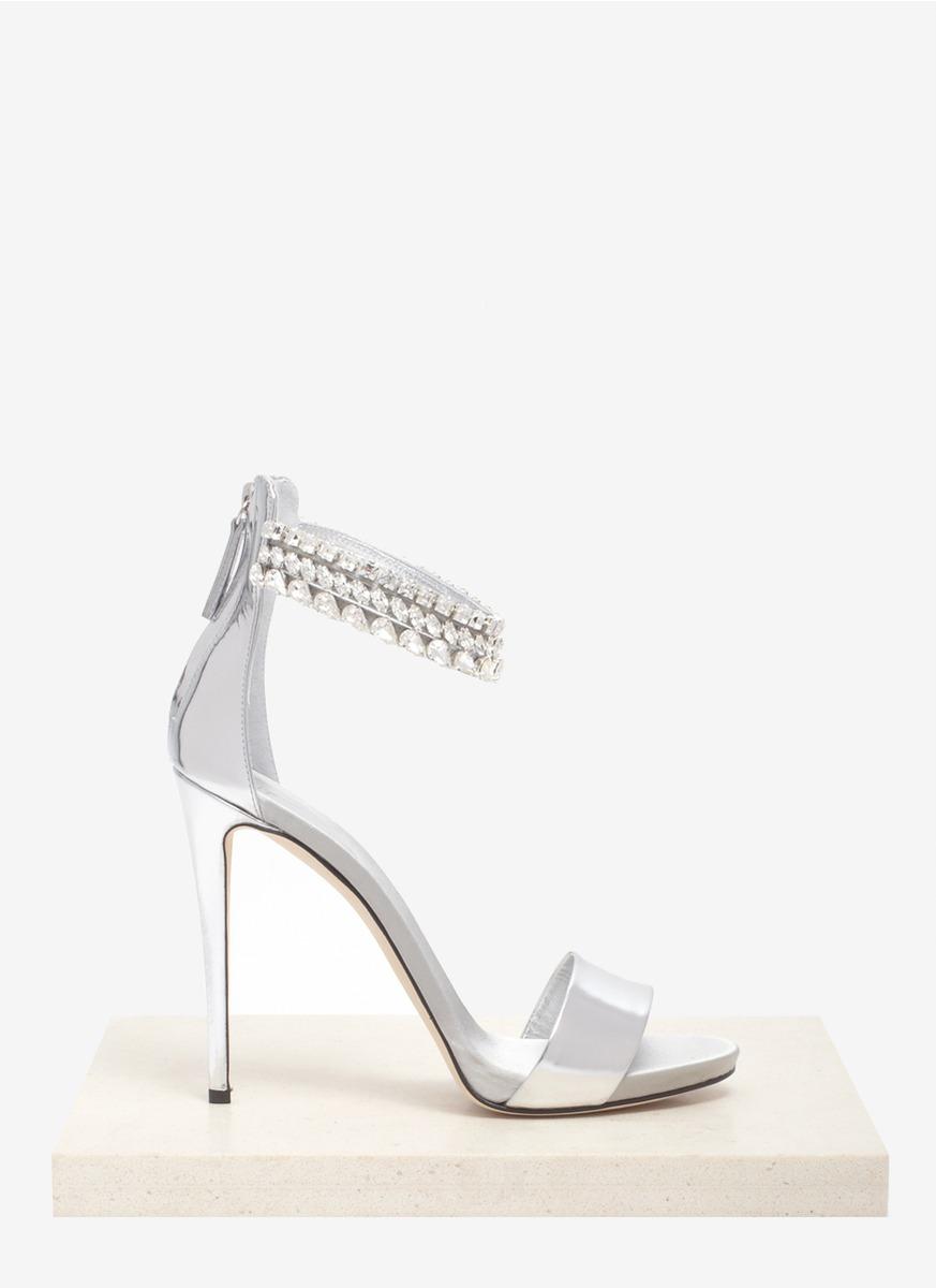 embellished slingback sandals - Metallic Giuseppe Zanotti p33Ja0fuT