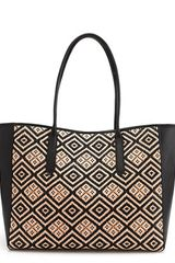 J.Crew Tartine Tote in Diamond Raffia