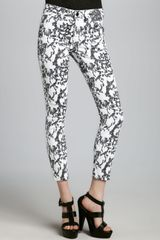 Joe's Jeans Sketch Print High Water Jeans - Lyst