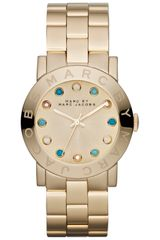 Marc By Marc Jacobs Womens Crystal Marker Steel Bracelet Watch - Lyst