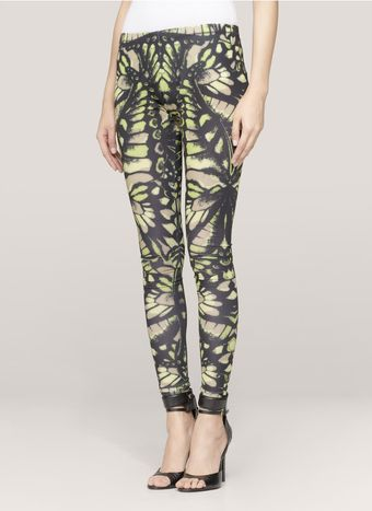 McQ by Alexander McQueen Butterflyprint Leggings - Lyst