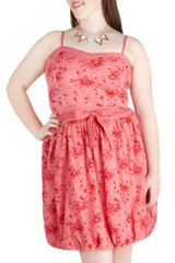 ModCloth Rose Bubbles Dress  - Lyst