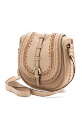 Oryany Morgan Saddle Bag in Beige (sand) - Lyst