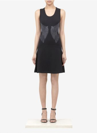 Prabal Gurung Wing Patterned Woolblend Knit Tank Dress - Lyst
