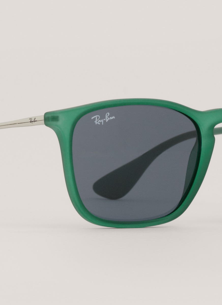 Lyst - Ray-Ban Chris Square Frame Sunglasses in Green
