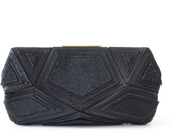 Roger Vivier Shades Of Black Pouchette - Lyst