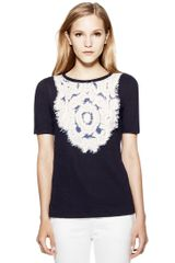 Tory Burch Maribel Tee - Lyst