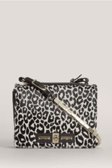 Valentino Leopardprint Ponyhair Shoulder Bag