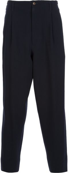 Jean Paul Gaultier Dropped Crotch Trouser - Lyst