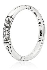 John Hardy Bamboo Slim Diamond Ring - Lyst