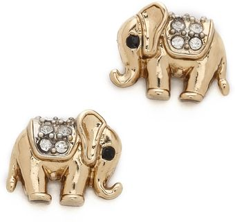 Juicy Couture Elephant Studs - Lyst