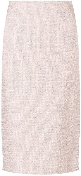 Max Mara Studio Renier Boucle Pencil Skirt - Lyst