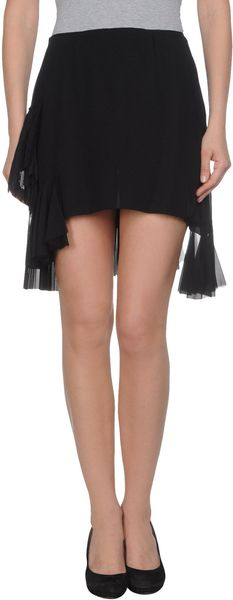 Roberta Furlanetto Mini Skirts - Lyst