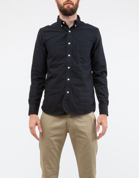 Black button down shirt memes for Black oxford button down shirt