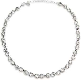 Swarovski Talesia Tear Crystal Necklace - Lyst