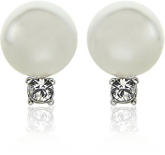 Swarovski Tricia Earrings - Lyst