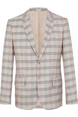 Alexander McQueen Checked Jacket - Lyst