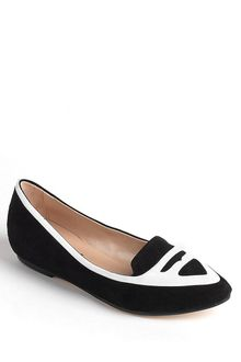 DKNY Tilly Suede and Patent Leather Loafers - Lyst