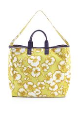 Juicy Couture Printed Canvas Beach Tote - Lyst