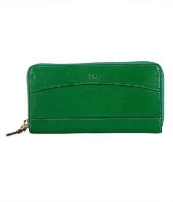 Lauren by Ralph Lauren Dorian Vanchetta Zip Around Wallet - Lyst