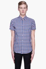 Marc By Marc Jacobs Pink Blue Molly Check Shirt - Lyst