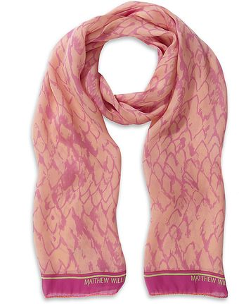 Matthew Williamson Printed Silk Scarf - Lyst