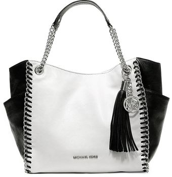 Michael by Michael Kors Chelsea Shiny Leather Medium Tote Bag - Lyst