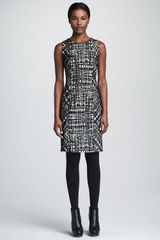 Paule Ka Sleeveless Sheath Dress - Lyst