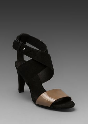 See By Chloé X Summer Strappy Heel in Black and Taupe - Lyst