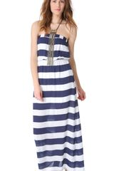Splendid Magnolia Stripe Maxi Dress - Lyst