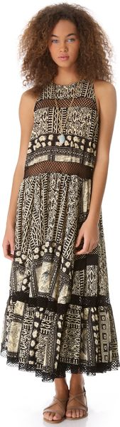 Zimmermann Wanderlust Lattice Cover Up Dress - Lyst