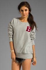 B Side By Wale 95 Sweatshirt in Gray - Lyst