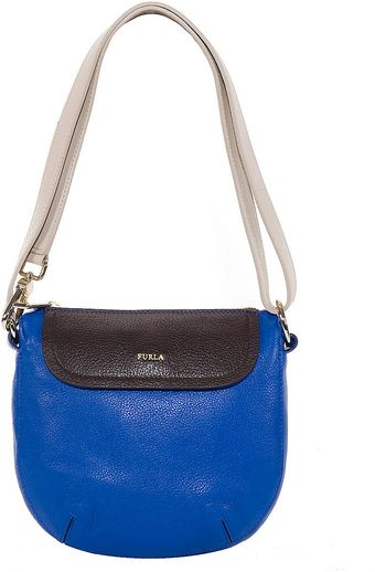 Furla Wave Leather Crossbody Bag - Lyst