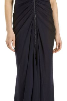 J. Mendel Jeweled Neckline Lace Top Gown - Lyst