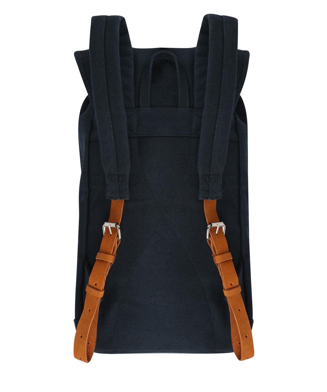 Sandqvist Navy Stig Canvas Backpack in Blue for Men | Lyst