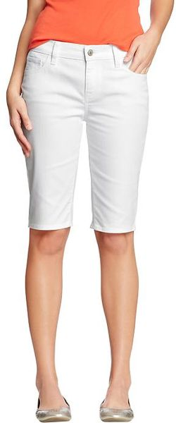Old Navy The Sweetheart Denim Bermudas 12 - Lyst
