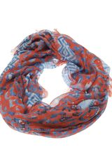 Temperley London Leopard Tile Scarf I - Lyst