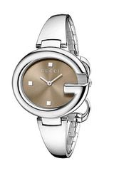 Gucci Ssima 36mm Stainless Steel Bangle Watch - Lyst