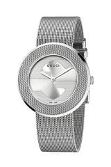 Gucci Uplay 35mm Stainless Steel Mesh Watch - Lyst