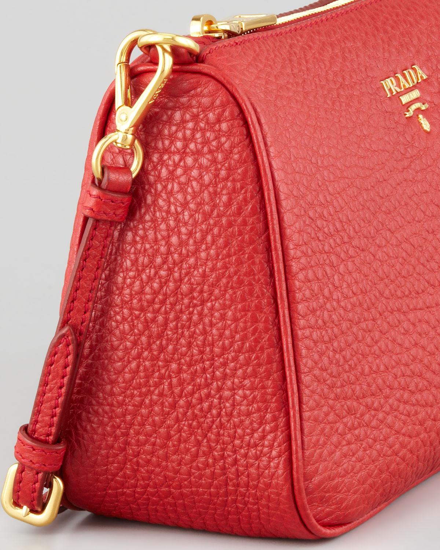 cac9c4874ac2 ... best lyst prada daino small shoulder bag in red 2532d b1f72 ...
