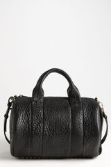 Alexander Wang Rocco Antique Brass Leather Satchel - Lyst