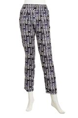 Cut25 By Yigal Azrouël Printed Georgette Pants - Lyst