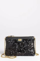 Dolce & Gabbana Miss Mini Sequin Crossbody Bag - Lyst