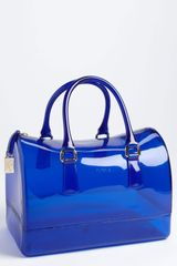 Furla Candy Transparent Rubber Satchel - Lyst