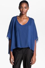 Helmut Lang Oasis Draped Top - Lyst