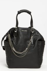 Jimmy Choo Blaze Leather Tote - Lyst
