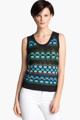 M Missoni Pucker Wave Knit Tank - Lyst