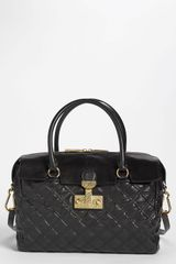 Marc Jacobs Baroque Rudi Leather Satchel - Lyst